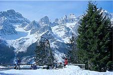 Wintersport Molveno (Italie)